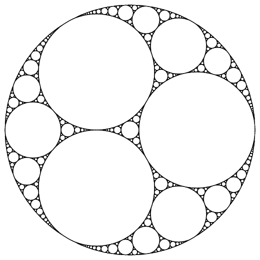 Fractal Circle And seemingly fractal
